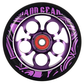 MGP Aero Scooter Wheel - Purple/Black110mm