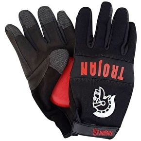 Trojan Synthetic Longboard Slide Gloves