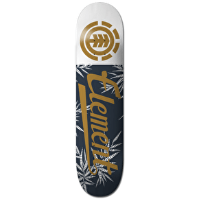 Element Skateboard Deck - Script Palm 7.5