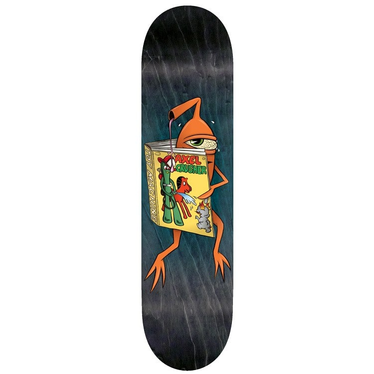 Toy Machine Gumby Skateboard Deck - Axel 8.375""