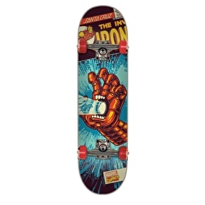 Santa Cruz x Marvel Skateboard - Iron Man Hand 7.25