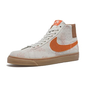 Nike SB Zoom Blazer SB Canvas - Light Bone/Brown Gum