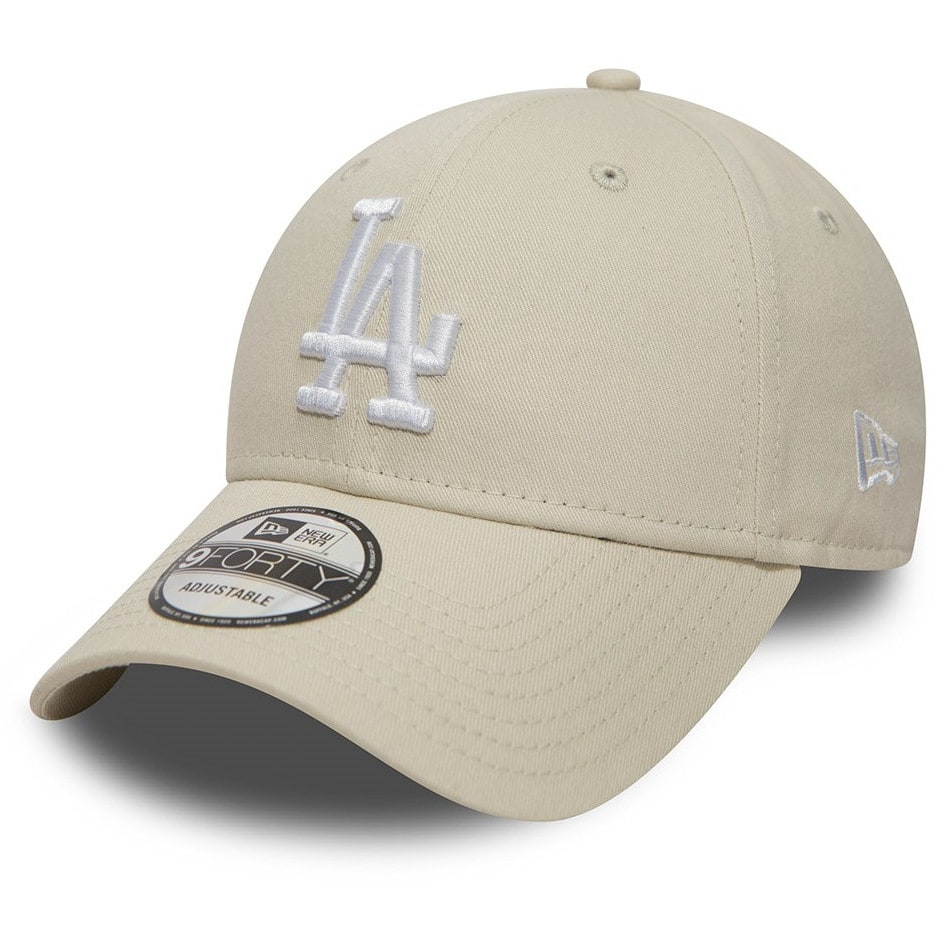 344f41faff5 New Era Los Angeles Dodgers MLB Essential 9FORTY Cap - Off White ...