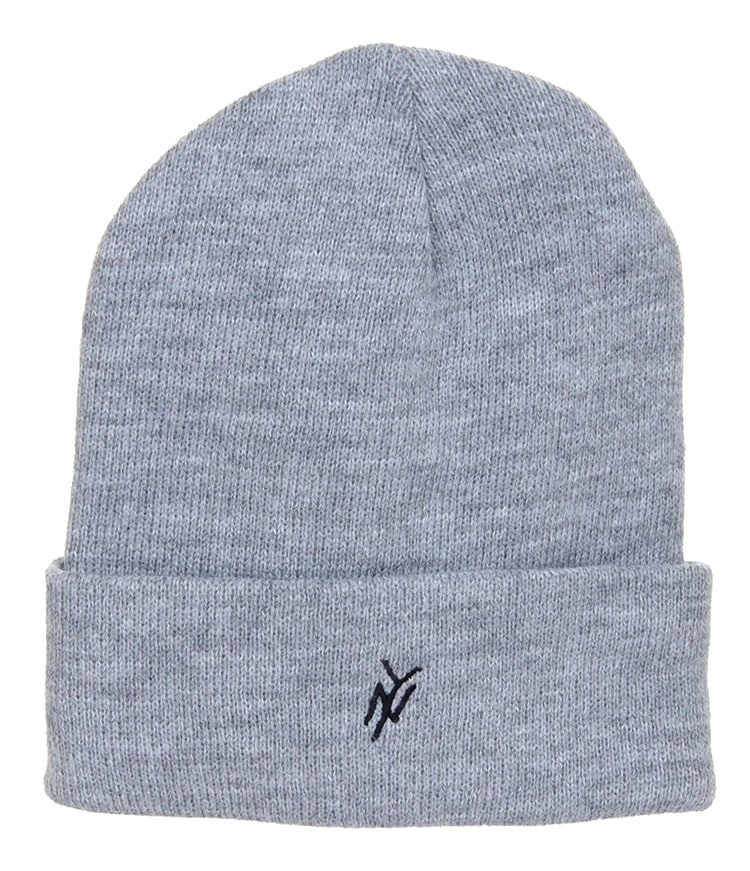 Image of 5Boro NY Monogram Beanie - Grey