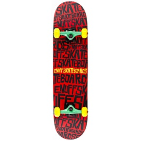 Enuff Scramble Complete Skateboard - Red/Black