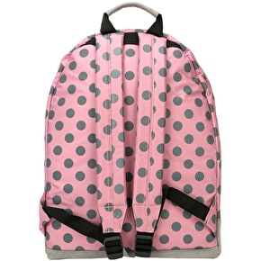 Mi-Pac All Polka Backpack - Rose/Grey