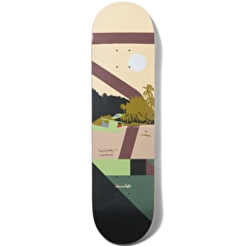 Chocolate Hecox Tropical Studies Skateboard Deck 8.25