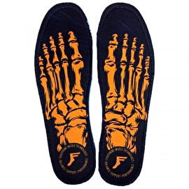 Footprint Gamecharger Orthotic Skeleton Gold Insoles