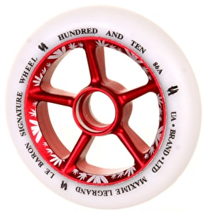 UrbanArtt Le Baron 110mm Wheels - Red/White