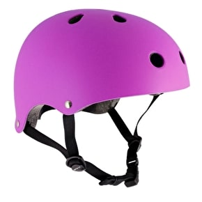 SFR Essentials Helmet - Matt Fluo Purple Small - Medium (B-Stock)