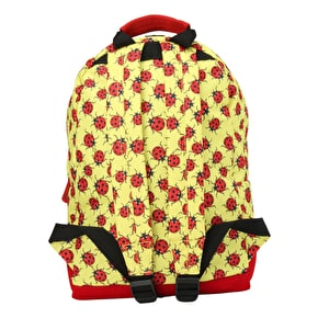 Mi-Pac Mini Ladybirds Backpack - Yellow/Red