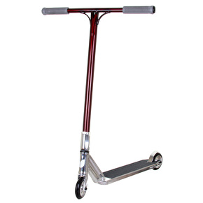 Blazer Pro x UrbanArtt Custom Scooter - Chrome/Red/Grey