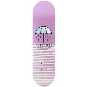 Fracture Brolly Skateboard Deck - Pink 8