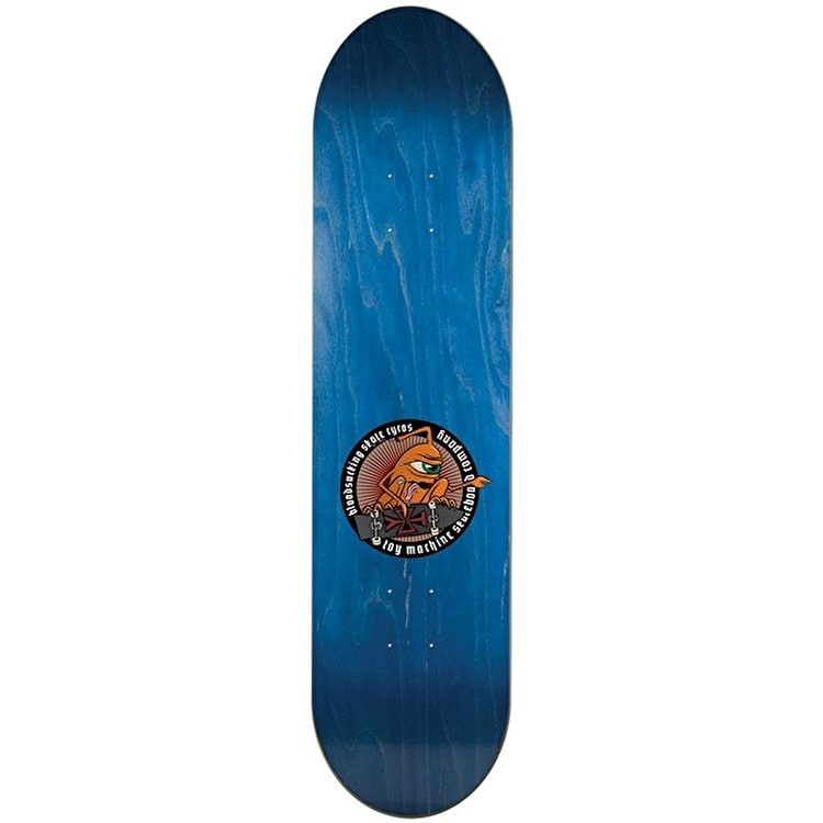 """Toy Machine Leabres Tract Pro Skateboard Deck - 8.5"""""""