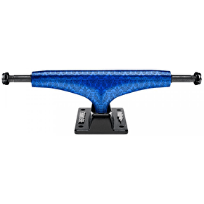 Thunder Hi 147 Hollow Lights Tonal Skateboard Trucks - Blue/Black
