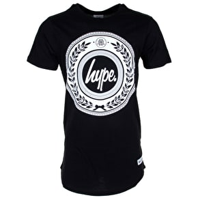 Hype Reef Dished T-Shirt - Black/White