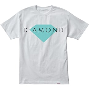 Diamond Solid T-Shirt - White