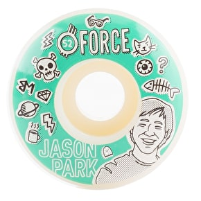 Force Bored Park Skateboard Wheels - 52mm