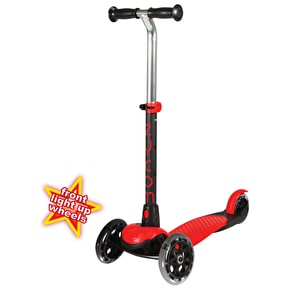 B-Stock Zycom Zing Complete Scooter w/Light Up Wheels - Red/Black (Box Damage)