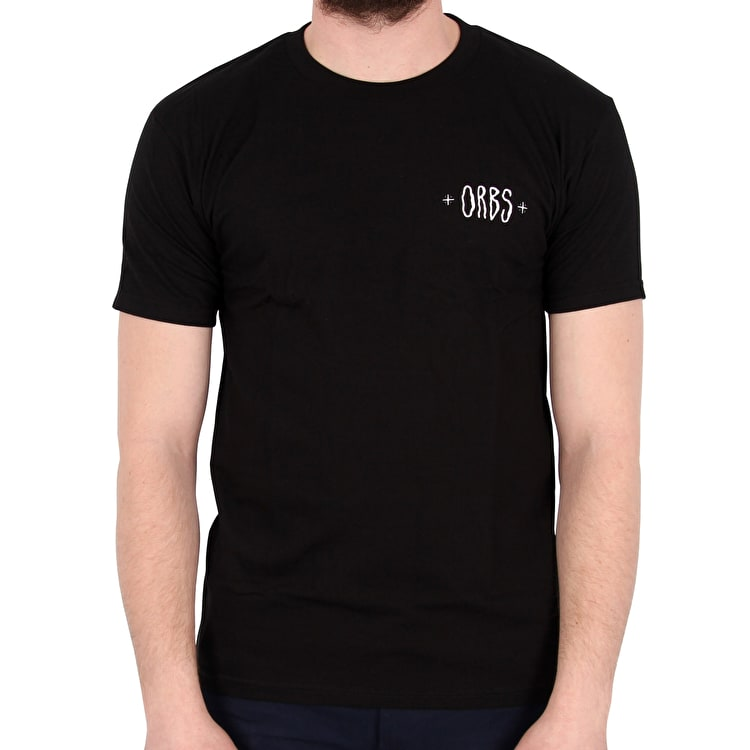 Welcome Orbs Ghost T shirt - Black/White