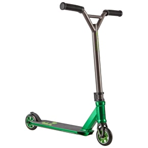 Chilli Pro 3000 Shredder Complete Scooter - Green/Black/Titanium