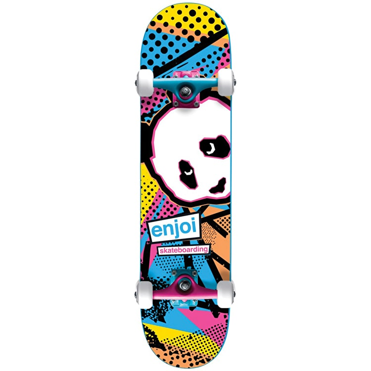 Enjoi 1985 Called Premium Complete Skateboard - Blue 7.75""