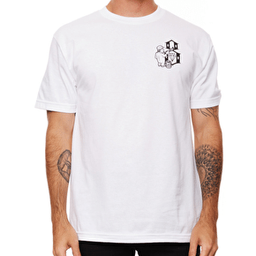 Rebel8 Hit The Walls T-Shirt - White