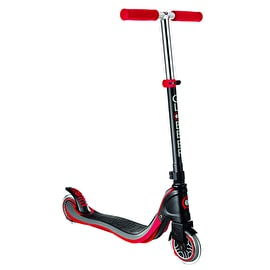 Globber Flow 125 Complete Scooter - Black/New Red