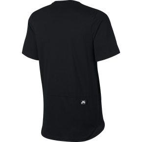 Nike SB Dri Top T-Shirt - Black/Dark Grey Heather