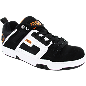 DVS Comanche Shoes - Black/White Nubuck Gunny