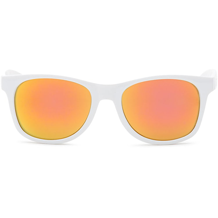 Vans Spicoli 4 Sunglasses - White/Flame