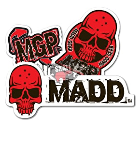 Mgp Sticker Logo pack - Red