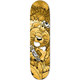 Fracture X Cheo Lion Skateboard Deck 8