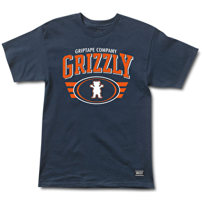 Grizzly Athletic Equipment T-Shirt - Navy