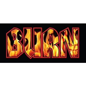 Spitfire Burn Sticker