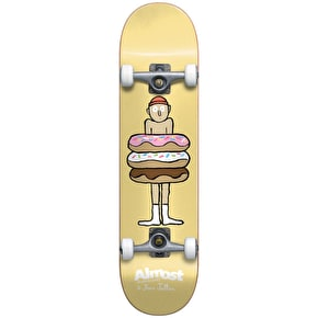 Almost Donuts Youth Complete Skateboard - Yellow 7