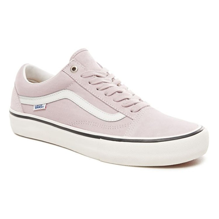 Vans Old Skool Pro Skate Shoes - (Retro) Violet Ice