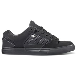 DVS Militia CT Skate Shoes - Black/Black