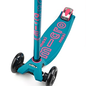 Maxi Micro Deluxe Complete Scooter - Turquoise