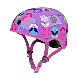 Micro Safety Helmet - Floral Dot