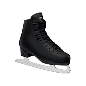 Roces Paradise Vinyl Lined Figure Skates Black UK Size 10 (B-Stock)