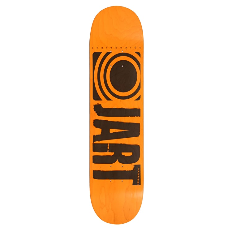 Jart Classic Skateboard Deck - Orange 7.75""