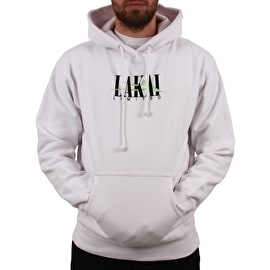 Lakai Interlaced Pullover Hoodie - White