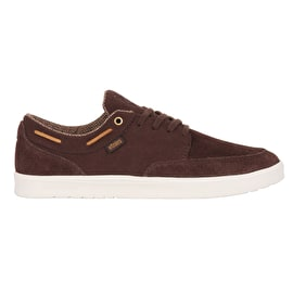 Etnies Dory SC Skate Shoes - Dark Brown