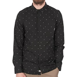 Element Lawton Long Sleeve Shirt - Flint Black