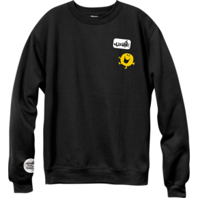 Cliché Crewneck - Mr Men Black