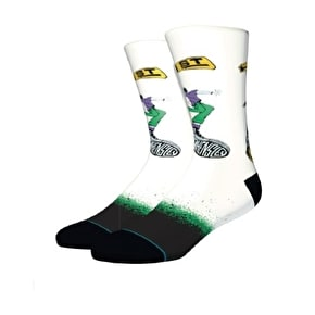 Stance Hensley Socks - White