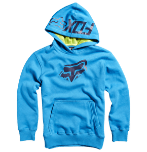 Fox Youth Verso Pullover Hoody - Electric Blue
