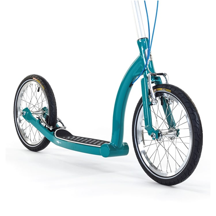 SwiftyZERO MK2 Commuter Scooter - Aqua Green/Silver