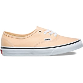 Vans Authentic Skate Shoes - Bleached Apricot/True White
